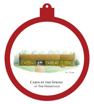 Hermitage - Cabin by the Spring Ornament - Retiring