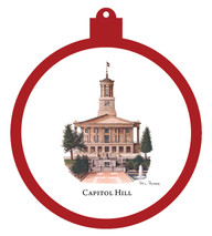 Capitol Hill Ornament
