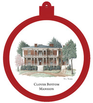 Clover Bottom Mansion Ornament