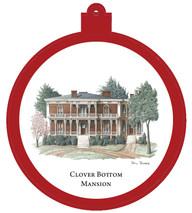 Clover Bottom Mansion Ornament - Retiring
