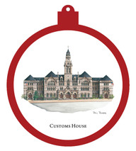 Customs House Ornament - Retiring