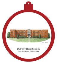DuPont High School - Old Hickory, Tennessee Ornament