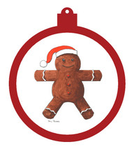 Gingerbread Man Ornament - Retiring
