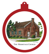 Hermitage - Hermitage Church Ornament - Retiring - SOLD OUT