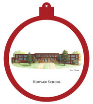 Howard School Ornament