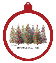 International Trees Ornament
