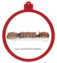 Isaac Litton High School Ornament