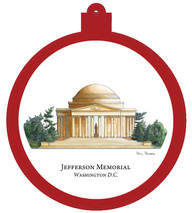 Jefferson Memorial - Washington, D.C. Ornament - Retiring