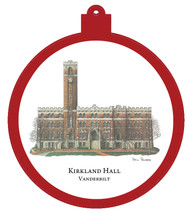 Kirkland Hall Ornament - Retiring