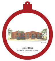 Labry Hall - Cumberland University Ornament - Retiring