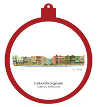 Lebanon Square Ornament