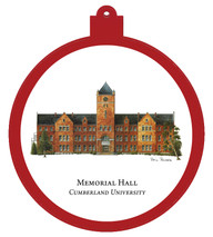 Memorial Hall - Cumberland University Ornament