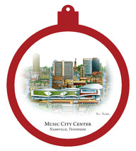 Music City Center Ornament