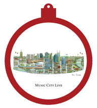 Music City Live Ornament