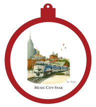 Music City Star Ornament