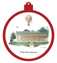 Parthenon Balloon Ornament