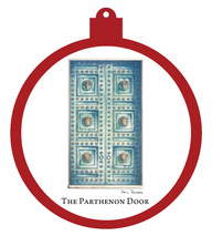 Parthenon Door Ornament