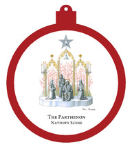 Parthenon Nativity Ornament