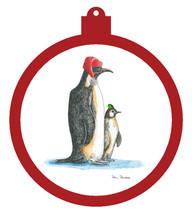 Penguin Hat Ornament - Retiring