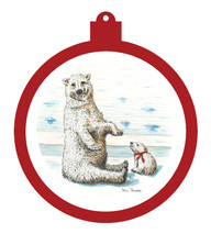 Polar Bear Ornament - Retiring