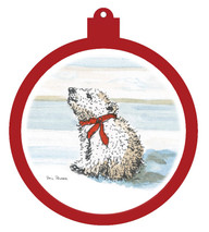 Polar Bear Cub Ornament - Retiring