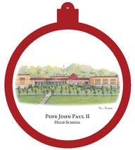 Pope John Paul II High School Ornament