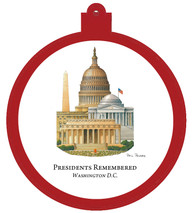 Presidents Remembered Ornament