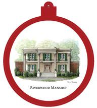 Riverwood Mansion - East Nashville Ornament