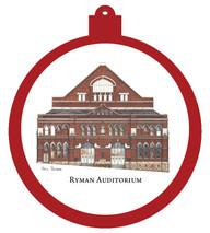 Ryman Auditorium Ornament - Retiring