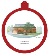 St. Stephen - The Barn Ornament