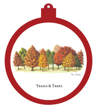 Trails & Trees Ornament - Retiring