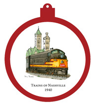 Train - 1940 Ornament - Retiring