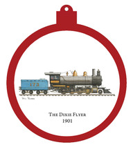 Train - Dixie Flyer 1901 Engine Only Ornament