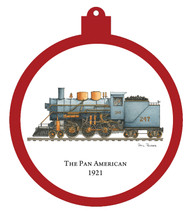 Train - Pan American 1921 Engine Only Ornament - Retiring