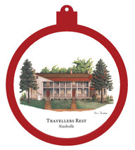 Travellers Rest - Nashville Ornament