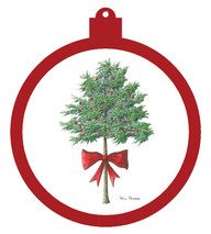 Tree Bow Ornament - Retiring