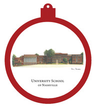 University School of Nashville Ornament