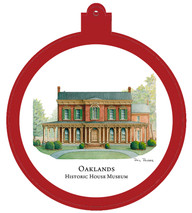 Oaklands Mansion Ornament