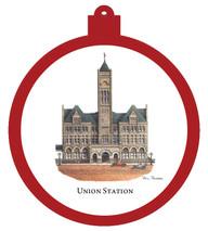 Union Station Ornament