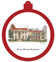 Belle Meade Mansion Ornament