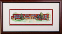 Howard School - 2016 (Original) framed
