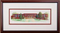 Howard School - 2016 (Original) framed