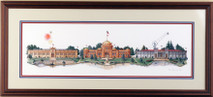 Centennial Too - 1989 (Original) framed