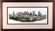 Nashville Adventure - 2009 (Original) framed