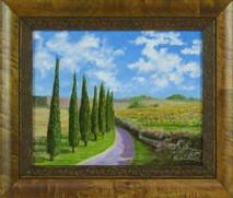 """Inslee, George - """"Tuscany II"""" framed"""
