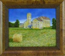 """Inslee, George - """"Tuscany III"""" framed"""
