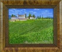 "Inslee, George - ""Tuscany IV"" framed"