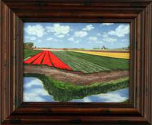 """Inslee, George - """"Kuekenhof III"""" framed"""