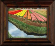"Inslee, George - ""Kuekenhof I"" framed"