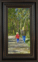 "Inslee, George - ""Son and Shadows"" framed"